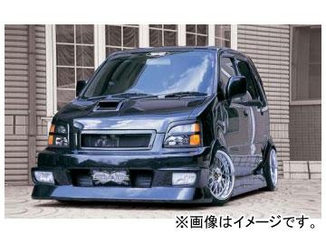 バタフライシステム VIP system フロントバンパースポイラー(グリル一体式) スズキ ワゴンR&RR MC
