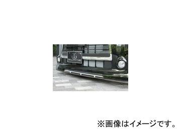 バタフライシステム GLANZ フロントハーフスポイラー(付加タイプ) ダイハツ タント カスタム L375 後期