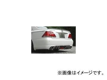 バタフライシステム GLANZ KRONE リアハーフスポイラー(付加タイプ) トヨタ クラウン 18