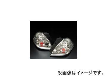 クリアワールド LEDユーロテールランプ TYPE-2 インナークローム ETH-15C ホンダ オデッセイ RB1・2 前期用 2003年10月~2006年04月