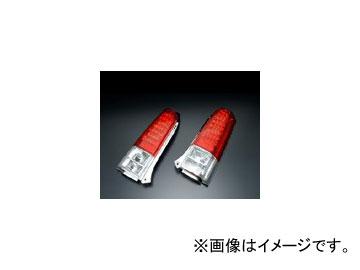 クリアワールド LEDコンビテールランプ レッド/クリア RTS-04 スズキ ワゴンR MC11・21 1998年10月~2003年09月