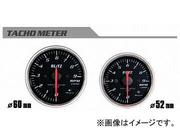 ブリッツ/BLITZ レーシングメーターSD φ60 TACHO METER 0~9 単位×1000rpm(電気式) No.19566