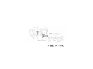 モンスタースポーツ エアロダイナミクスバンパー専用オイルクーラーダクト 3LQC01 ミツビシ ランサーEvo7/8/8MR