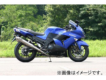 2輪 ノジマエンジニアリング ファサームSチタン 4-1-2SC VCAT チタン NTX623VTIW-CL カワサキ ZZR1400 ZX-14 ABS装着可 2006年~2007年 JAN:4547424936684
