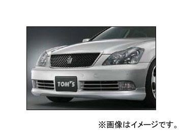 トムス フロントスポイラー 塗装済 トヨタ クラウン アスリート/ロイヤル GRS18# 2003年12月~2005年10月