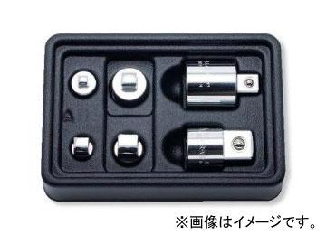 """コーケン/Koken 3/8""""(9.5mm) アダプターセット 6ヶ組 PK2346/6"""