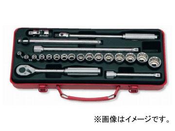 """コーケン/Koken 3/8""""(9.5mm) ソケットセット 22ヶ組 3210M"""