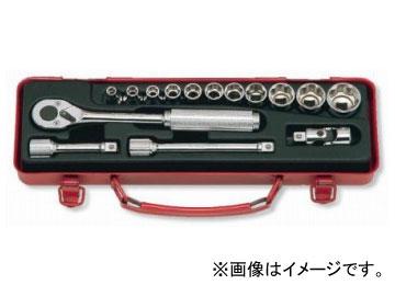"""コーケン/Koken 3/8""""(9.5mm) ソケットセット 15ヶ組 3252M-10"""