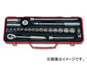 """コーケン/Koken 3/8""""(9.5mm) ソケットセット 24ヶ組 3275"""
