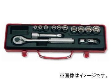 """コーケン/Koken 1/2""""(12.7mm) ソケットセット 13ヶ組 4222M"""