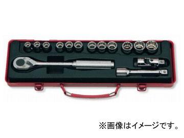 """コーケン/Koken 1/2""""(12.7mm) ソケットセット 15ヶ組 4223M"""