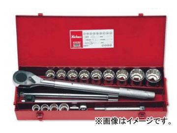 """コーケン/Koken 3/4""""(19mm) ソケットセット 20ヶ組 6260M"""