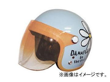 2輪 ダムトラックス/DAMMTRAX フラワージェット エアリーブルー レディースフリー(57cm~58cm) JAN:4580184031077