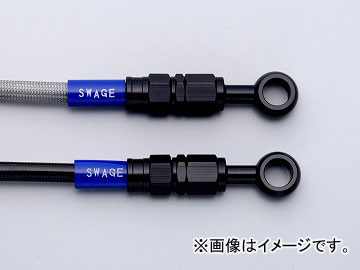 2輪 スウェッジライン Fホースキット ブラック/クリア 品番:BAF173 ホンダ CB1100 TYPE-1 2010年~2011年 JAN:4548664125524