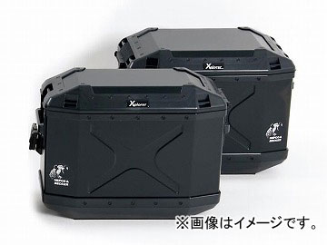2輪 ヘプコ&ベッカー XPLORER 3BOXセット(ブラック) HBS-XPR-ALL-B JAN:4548664587766