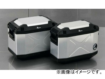 2輪 ヘプコ&ベッカー XPLORERサイドセット(シルバー) HBS-XPR-SS-S JAN:4548664587797