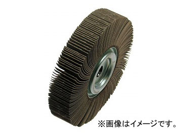 柳瀬/YANASE フラップホイール(研磨輪) 250×30 #40 UFF25030#40 穴径:15.88,19.05,25.4 タイプ:標準(H),巻込み(M)