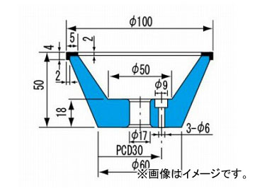 柳瀬/YANASE CBNホイール 飯田型 B-002