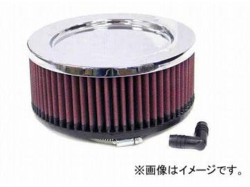 2輪 K&N デュアルフランジオーバル/クローム 品番:RC-2380 JAN:4520616222079