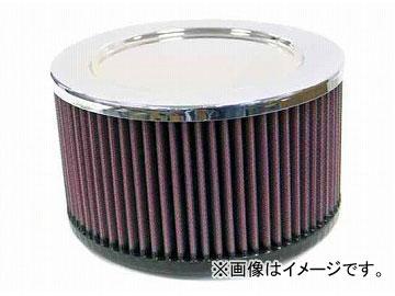 2輪 K&N ラウンドストレート/クローム 品番:RA-095V JAN:4520616223564