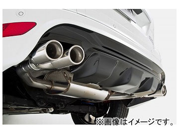 エアスト エキゾーストシステム ERSTリアスカート用 オーバル94φデュアルテール ボルボ XC60 DB 2.0 2014年~