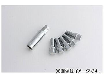 エアスト ボルト(アダプター付き) M14×1.5 28mm クローム