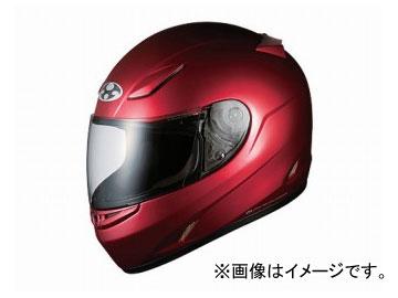 2輪 オージーケーカブト ヘルメット FF-R3 シャイニーレッド