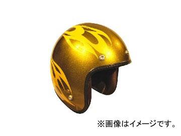 2輪 72JAM JET HELMET ジェットヘルメット JAM CUSTOM PAINTING JCP BURNS CYE/BK JCP-02 JAN:4562286790151