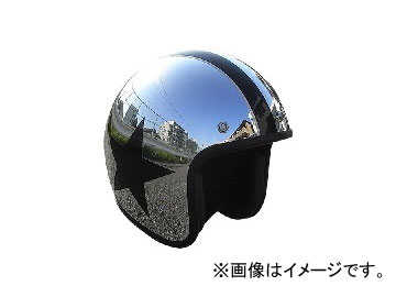 2輪 72JAM JET HELMET ジェットヘルメット JAM CUSTOM PAINTING JCP CHROMES TWIN STAR JCP-10 JAN:4562286790342