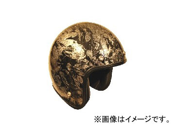 2輪 72JAM JET HELMET ジェットヘルメット JAM CUSTOM PAINTING RASH SV JCP-17 JAN:4562286790298