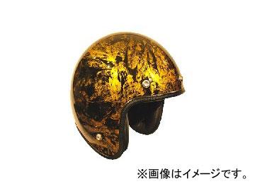 2輪 72JAM JET HELMET ジェットヘルメット JAM CUSTOM PAINTING RASH GD JCP-18 JAN:4562286790304