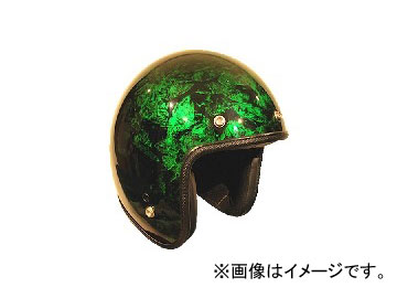 2輪 72JAM JET HELMET ジェットヘルメット JAM CUSTOM PAINTING RASH GR JCP-21 JAN:4562286790335