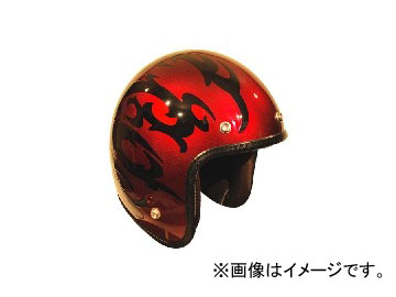 2輪 72JAM JET HELMET ジェットヘルメット JAM CUSTOM PAINTING TRIBAL RD JCP-22 JAN:4562286790366