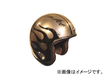 2輪 72JAM JET HELMET ジェットヘルメット JAM CUSTOM PAINTING JCP IRON FLAME JCP-28 JAN:4562286790427