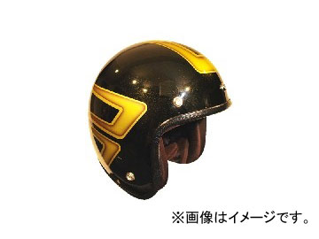 2輪 72JAM JET HELMET ジェットヘルメット JAM CUSTOM PAINTING JCP SCALLOP YL JCP-32 JAN:4562286790465