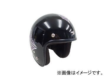 2輪 72JAM JET HELMET ジェットヘルメット JAM CUSTOM PAINTING JCP SPINDLE MB(ミッドナイトブラック) JCP-39 JAN:4562286790748