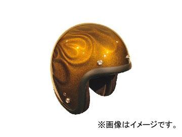 2輪 72JAM JET HELMET ジェットヘルメット 3D GHOST FLAME GD JG-15 JAN:4562286790496