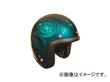 2輪 72JAM JET HELMET ジェットヘルメット 3D GHOST FLAME BL JG-16 JAN:4562286790502