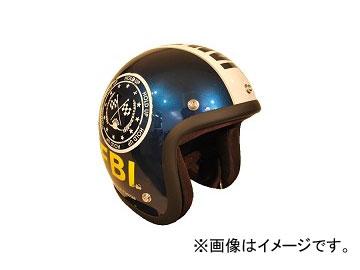 2輪 72JAM JET HELMET ジェットヘルメット F.B.I. BK JJ-02B JAN:4562286790205