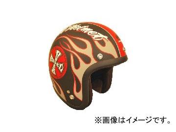 2輪 72JAM JET HELMET ジェットヘルメット ROCK&ROLL BK JJ-06 JAN:4562286790069