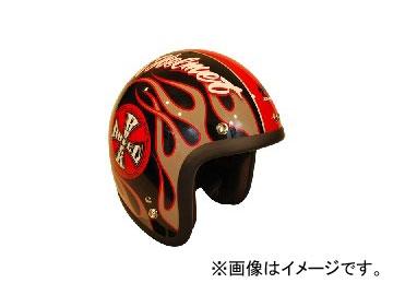 2輪 72JAM JET HELMET ジェットヘルメット ROCK&ROLL BK/G(グロス) JJ-06G JAN:4562286790601