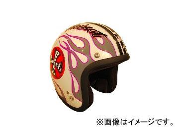 2輪 72JAM JET HELMET ジェットヘルメット ROCK&ROLL WH JJ-07 JAN:4562286790076