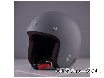 2輪 72JAM JET HELMET ジェットヘルメット MOONDOGS HELMET Matt Cool Gray IK-01 JAN:4562286791783