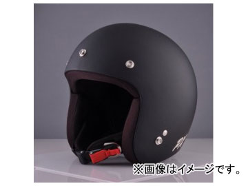 2輪 72JAM JET HELMET ジェットヘルメット MOONDOGS HELMET Matt Cool Black IK-02