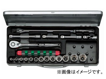 【NEW限定品】 TB413:オートパーツエージェンシー2号店 12.7sq.ソケットレンチセット[19点] KTC-DIY・工具