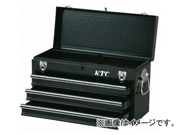 KTC チェスト(3段3引出し) ソリッドブラック SKX0213BK
