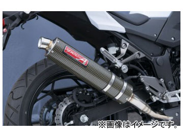 2輪 ヤマモトレーシング spec-A マフラー SUS SLIP-ON ケブラー 品番:40252-01NKB カワサキ ニンジャ250 2013年~