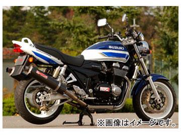 2輪 ヤマモトレーシング spec-A マフラー チタン SLIP-ON TWIN カーボン 品番:31400-02NCN スズキ GSX1400 ~2004年