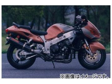 2輪 ヤマモトレーシング spec-A マフラー TI4-2-1-2 カーボン 品番:31300-42TCN スズキ GSX1300R ~2005年