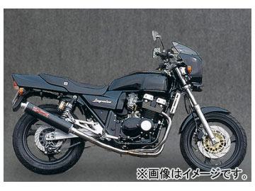 2輪 ヤマモトレーシング spec-A マフラー SUS4-1 カーボン 品番:30404-11SCB スズキ GSX400インパルス
